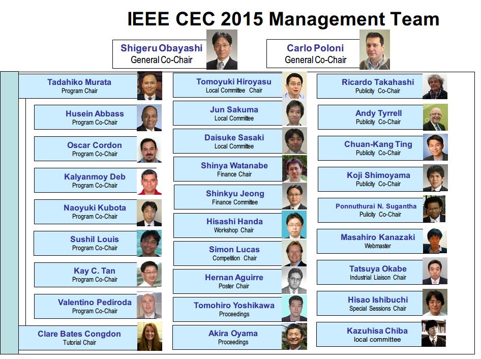 CEC 2015 Team